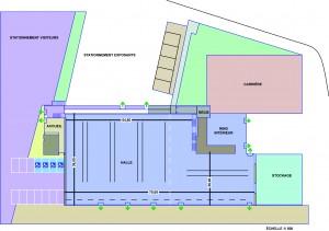 Plande la Grande Halle d'Aumont-Aubrac